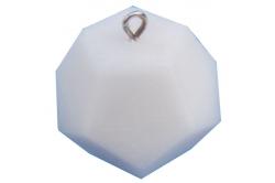 Dodécaèdre pendentif HOEM blanc